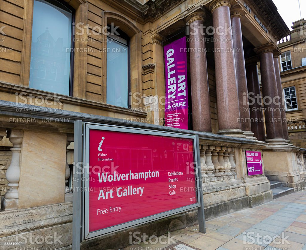 Wolverhampton Art Gallery stock photo