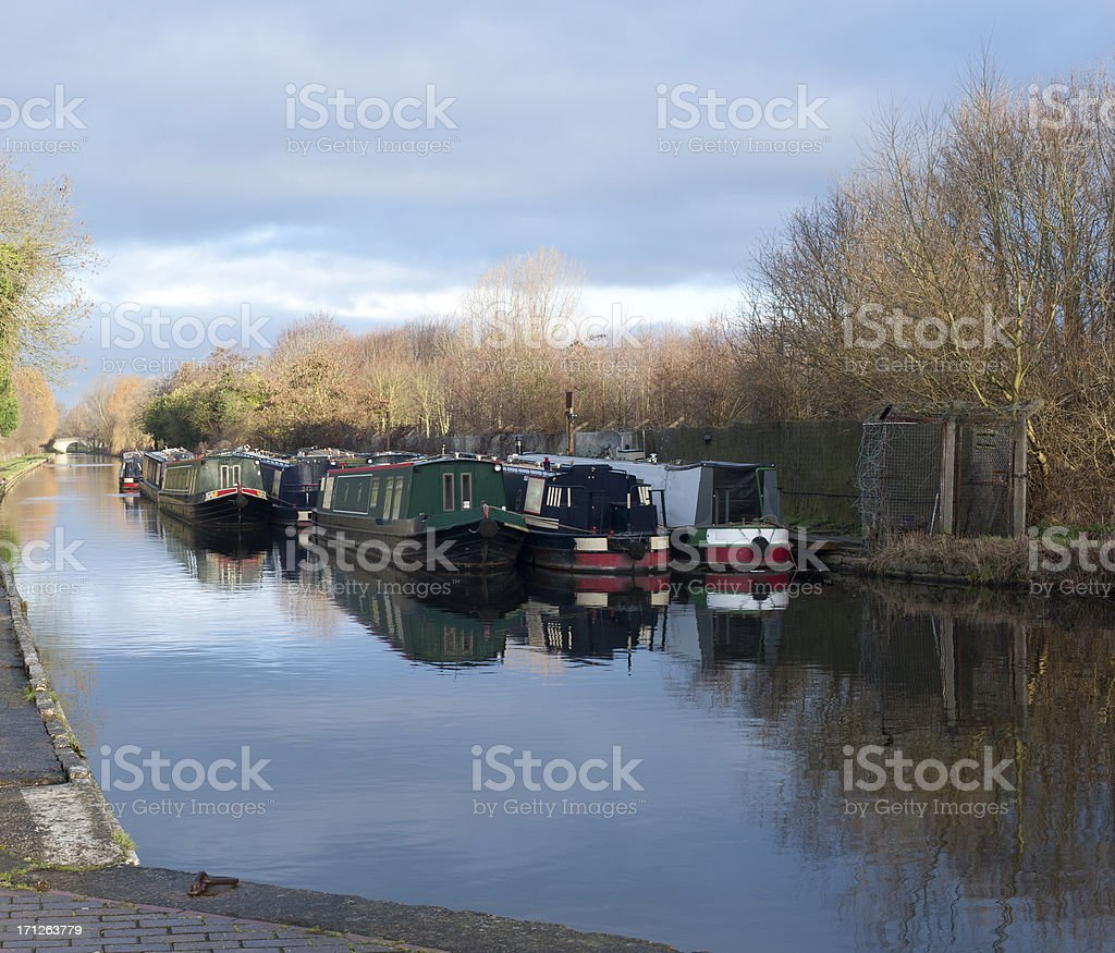 Wolverhampton Canal stock photo