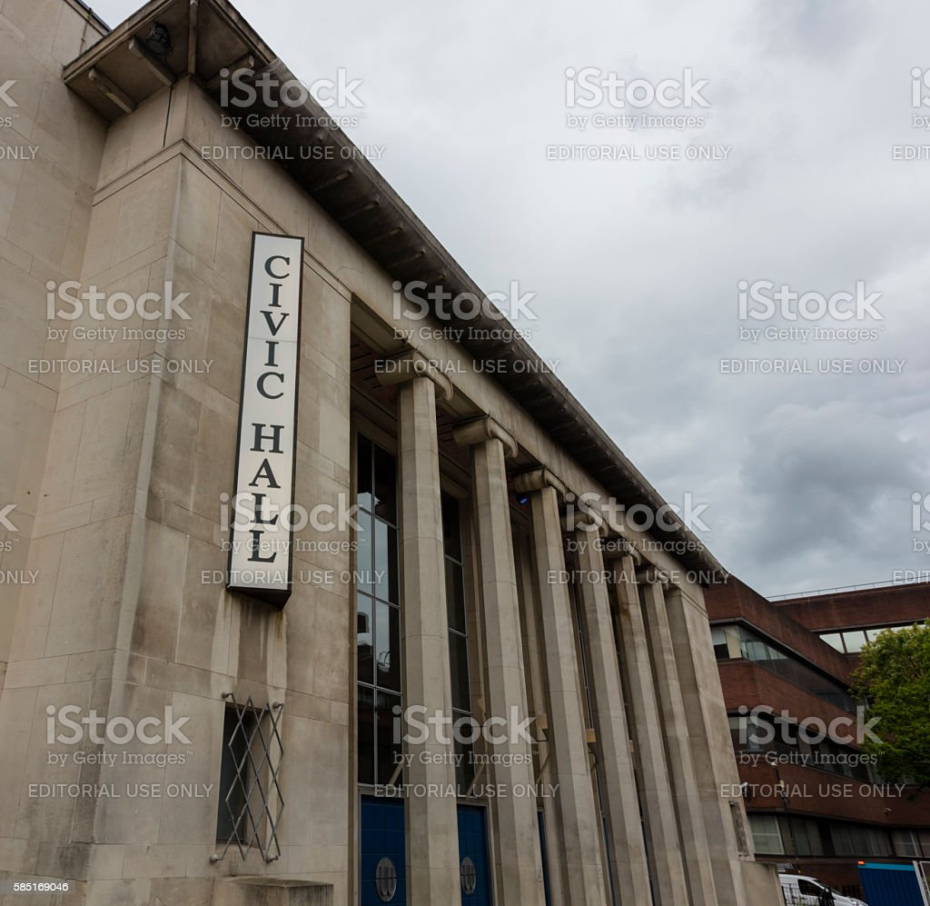 Wolverhampton Civic Hall stock photo