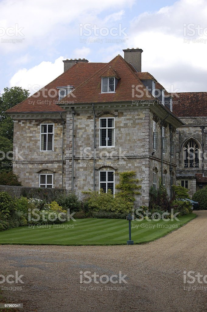 Wolvesey Palace, Winchester royalty-free stock photo