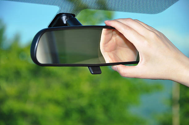 royalty  rear view mirror pictures images  stock  istock