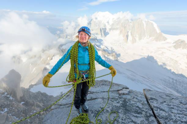 Frau Alpinist – Foto