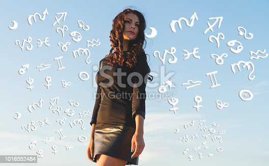 istock Woman and astrology zodiac signs 1016552484