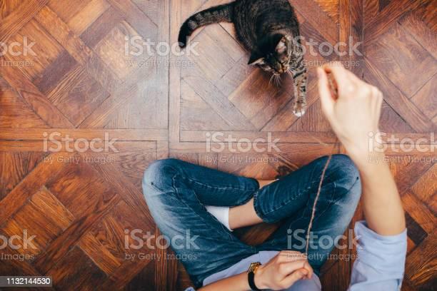 Woman and cat picture id1132144530?b=1&k=6&m=1132144530&s=612x612&h=jtad5gpju800dbhto9wt7y5ulax06ulgdxd djvzapk=