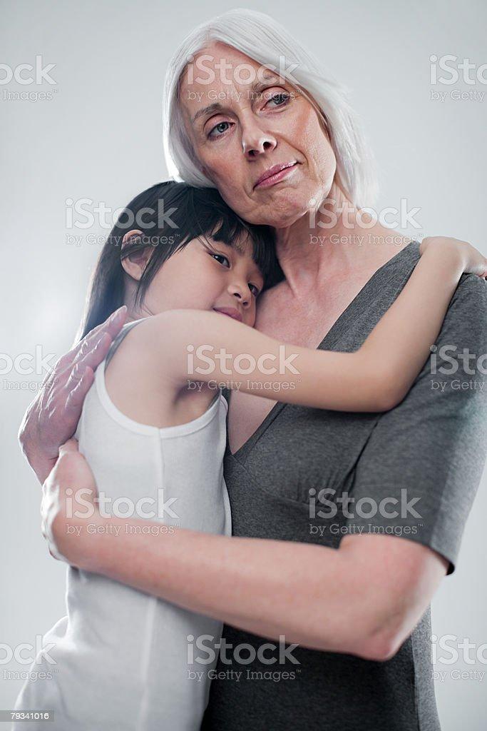 Mulher e criança foto de stock royalty-free