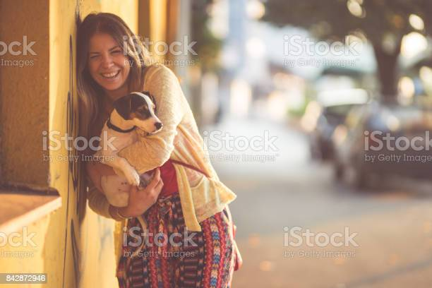 Woman and her dog picture id842872946?b=1&k=6&m=842872946&s=612x612&h=pssuety9sqyrfdfychombofzann0xfp9q3e2nec1eig=