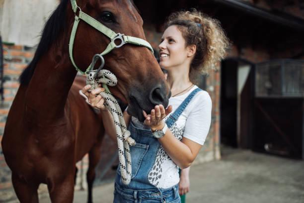 Woman and her horse picture id990889616?b=1&k=6&m=990889616&s=612x612&w=0&h=qxbgfszt57c9nvkozppvogdps7pchpqy501gvbrewio=