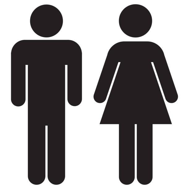Femme et Homme icônes - Photo