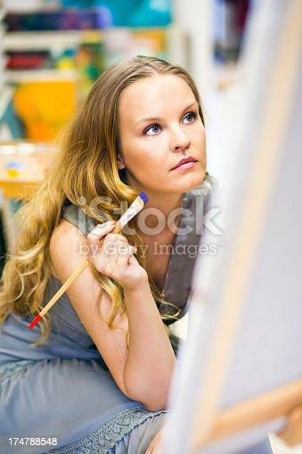 577949148istockphoto woman artist 174788548