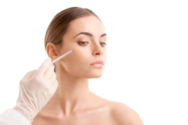 Cтоковое фото Woman at plastic surgery