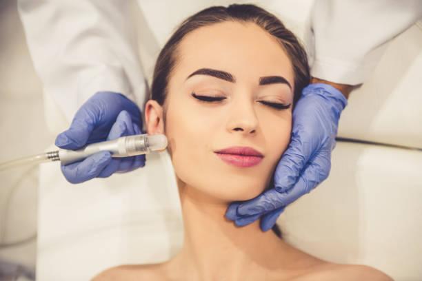 美容師の女性 ストックフォト