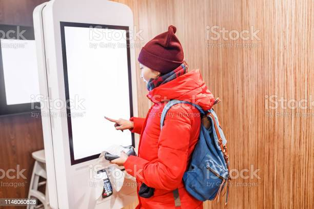 Woman at the touch screen payment terminal picture id1146060828?b=1&k=6&m=1146060828&s=612x612&h=l1fhqunqyl1byzebp izwhhkbn0ocfu9ali pdvysrm=