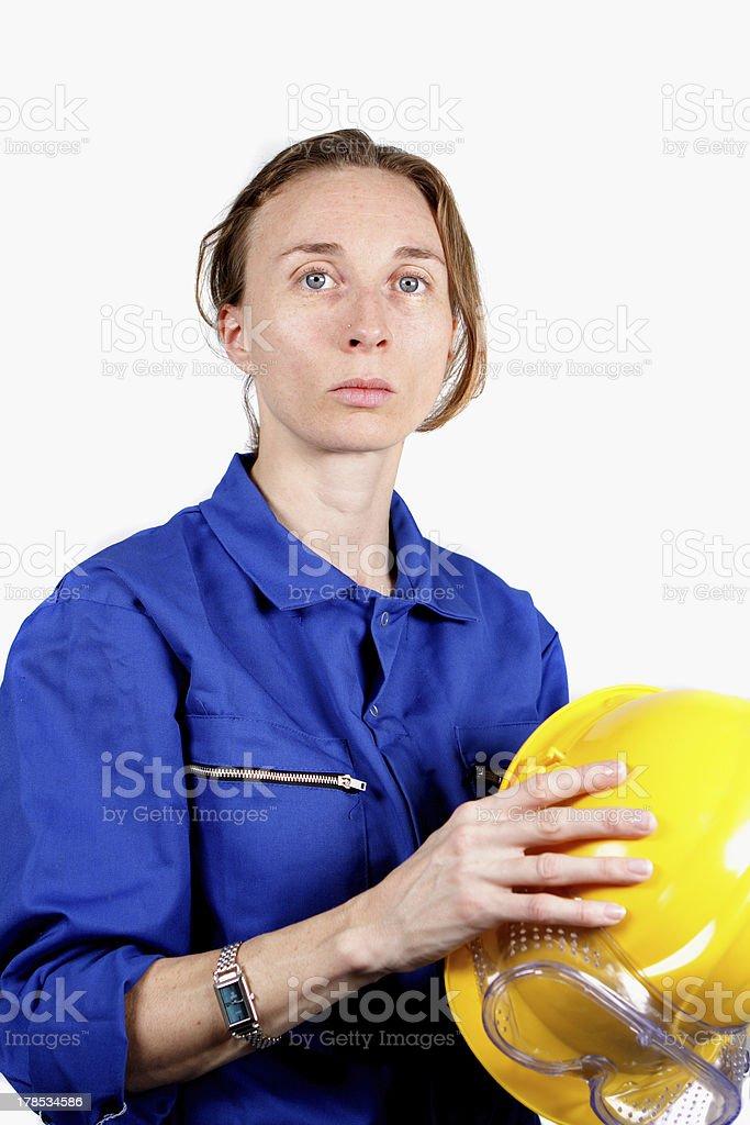 woman at work royalty-free stock photo