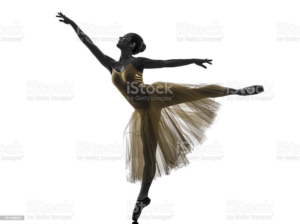 Siluetas De Ballerinas Y Bailarinas Ballet T Bailarines
