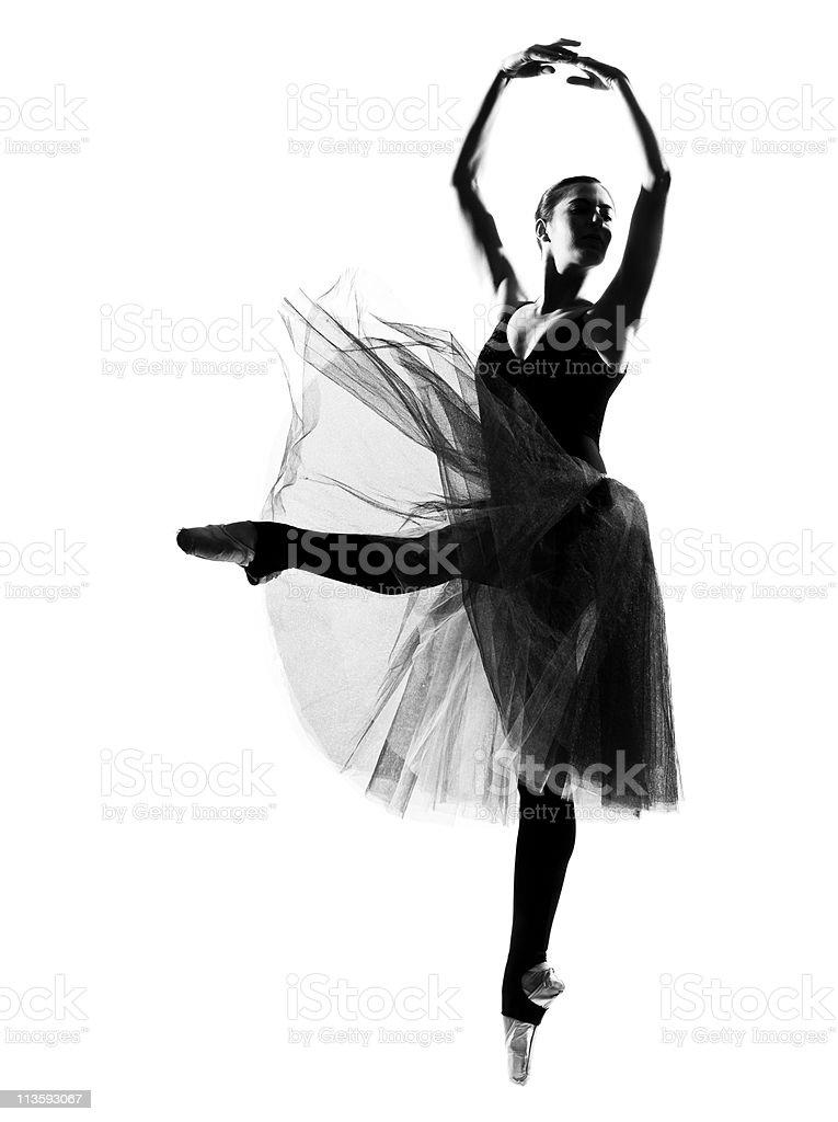 woman ballet dancer ballerina black swan stock photo