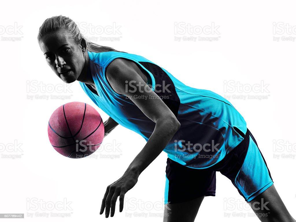 Femme Basketball De Basketball Femme Joueur Joueur Basketball Silhouette Femme Joueur Femme De De Silhouette Silhouette Silhouette wqw1B
