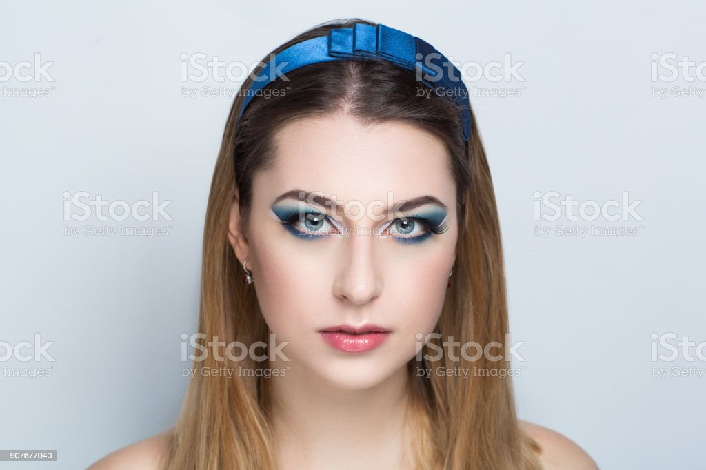 woman beauty face model stock photo