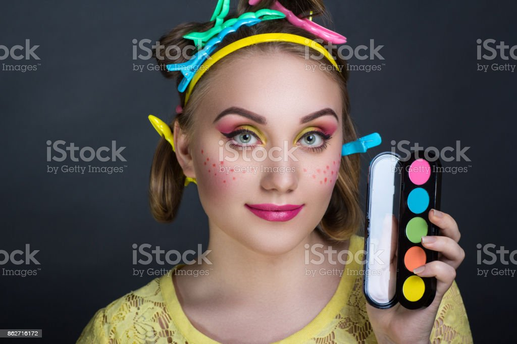 woman beauty face stock photo
