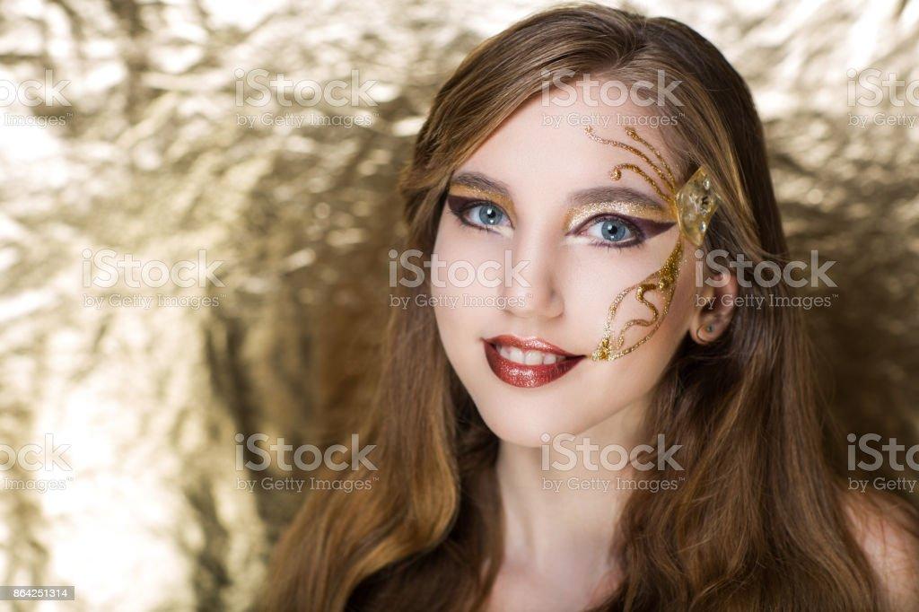 woman beauty face royalty-free stock photo