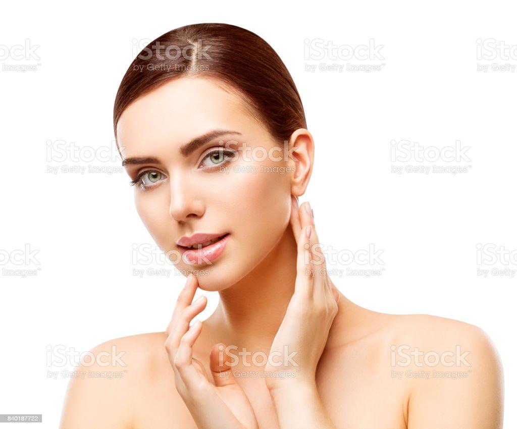 Make Up Stoel : Woman beauty makeup natural face make up body skin care beautiful
