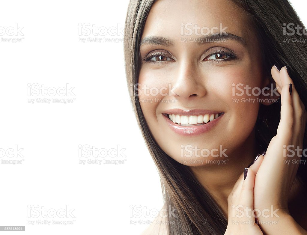 Mujer de belleza - foto de stock