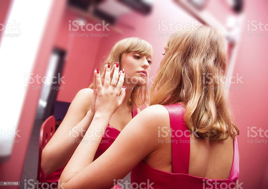 Woman beauty royalty-free stock photo