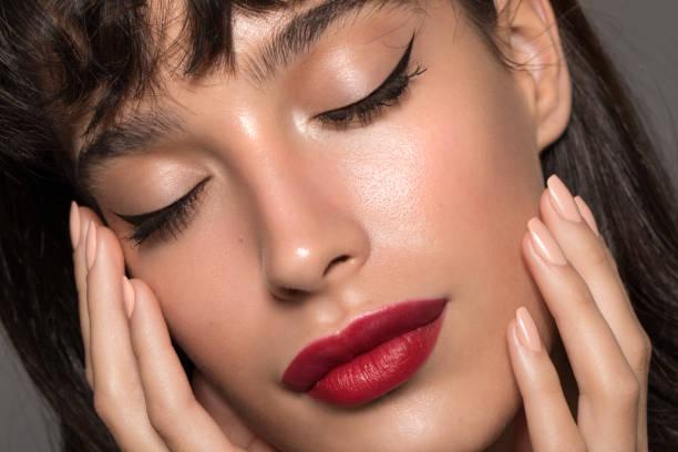 Woman beauty portrait stock photo