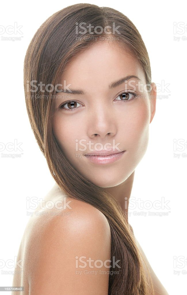 Woman beauty portrait stock photo