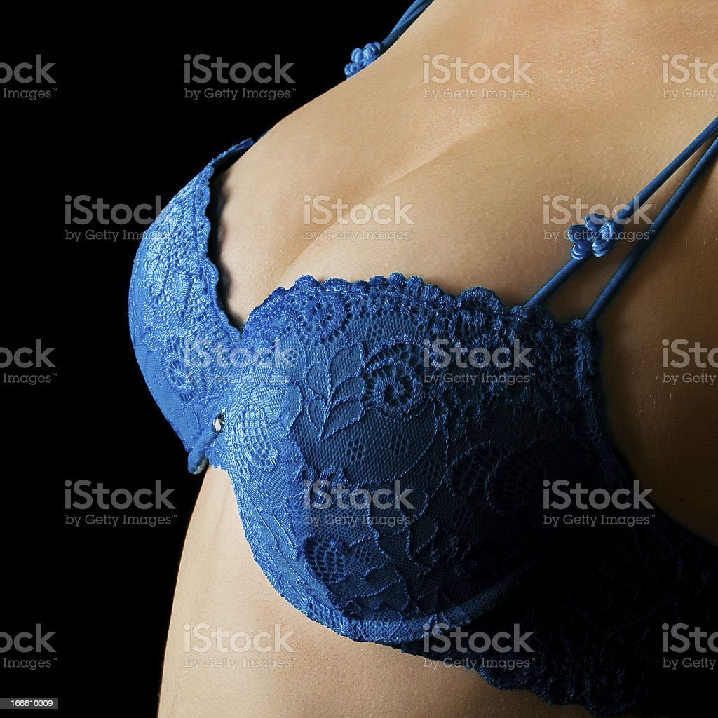 Woman Breasts stock photo