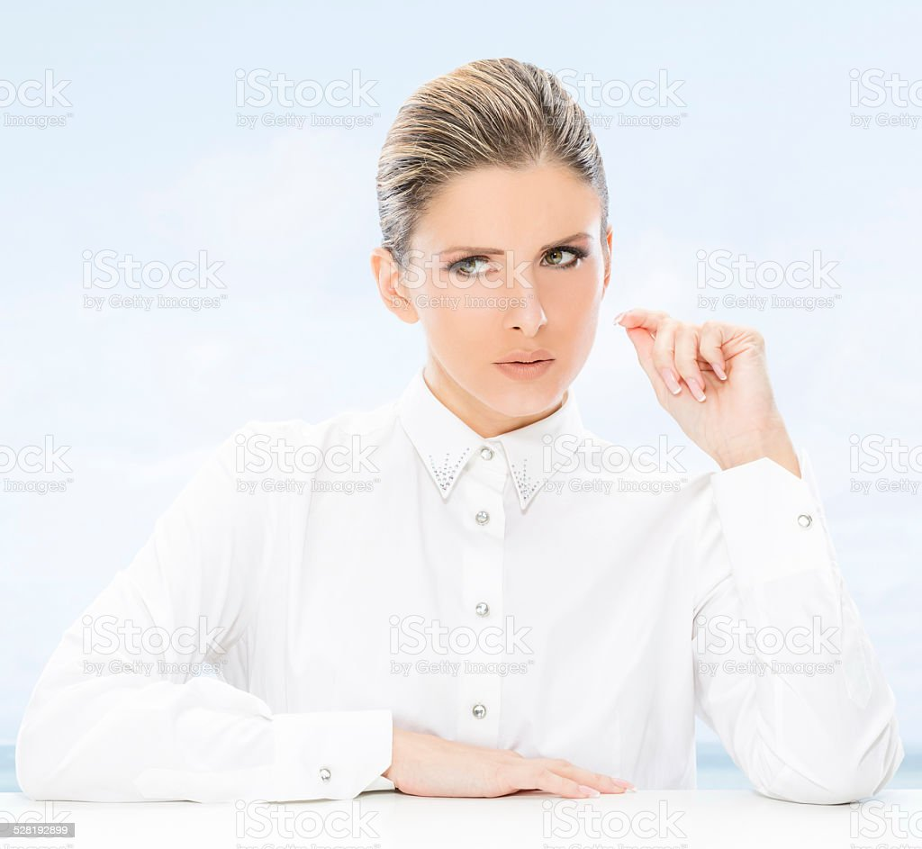 Woman, business and success. stock photo