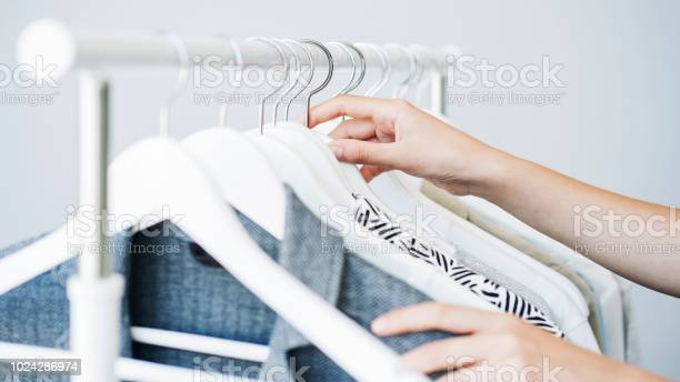 Woman choosing clothes on a rack picture id1024286974?b=1&k=6&m=1024286974&s=612x612&h=mj4 84iwuakhgelwyvtd5rjvhsznlo75rvnujj0vuz0=