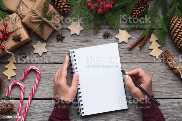 Woman christmas letter on paper on wooden background picture id1058821410?b=1&k=6&m=1058821410&s=612x612&h=g3rj7a1z1syjrp4h efu q hm4okpnje yy3wc8fma0=