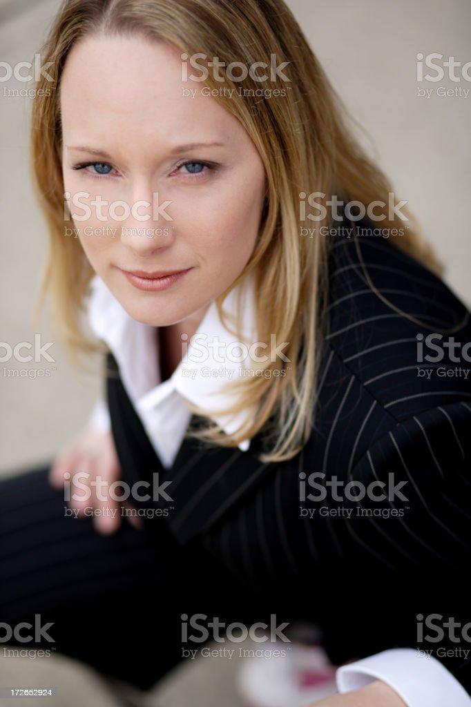 Woman closeup 02 royalty-free stock photo