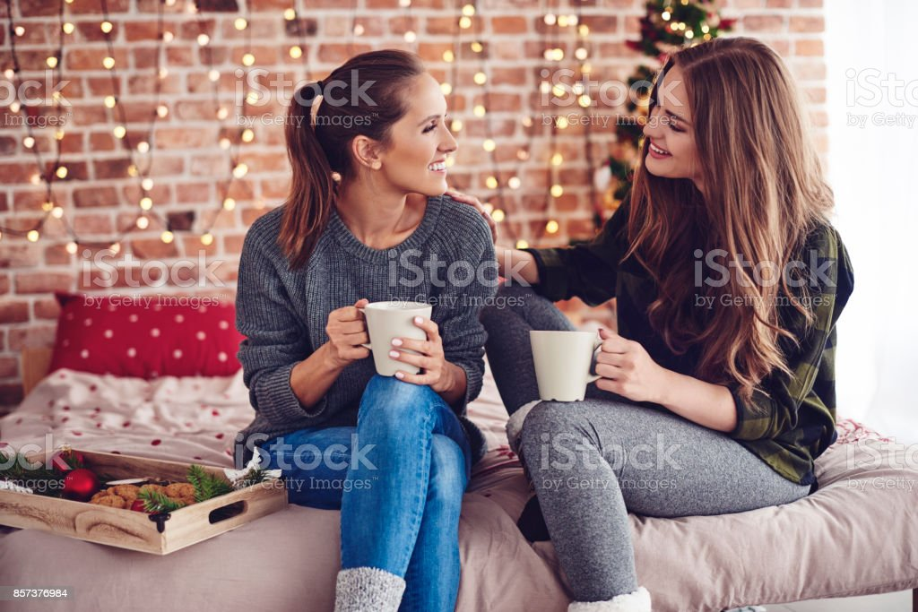 Woman consoling and supporting her friend stock photo