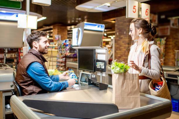 Kasse Supermarkt