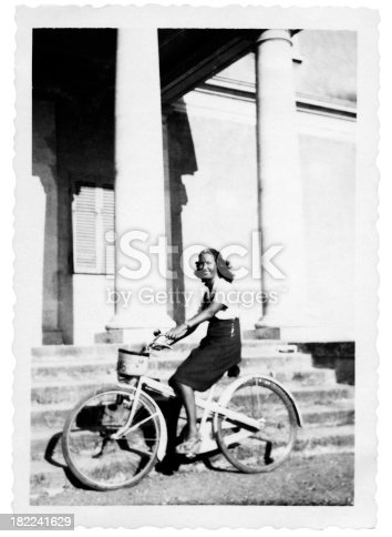 812812808istockphoto Woman Cycling in 1935 182241629