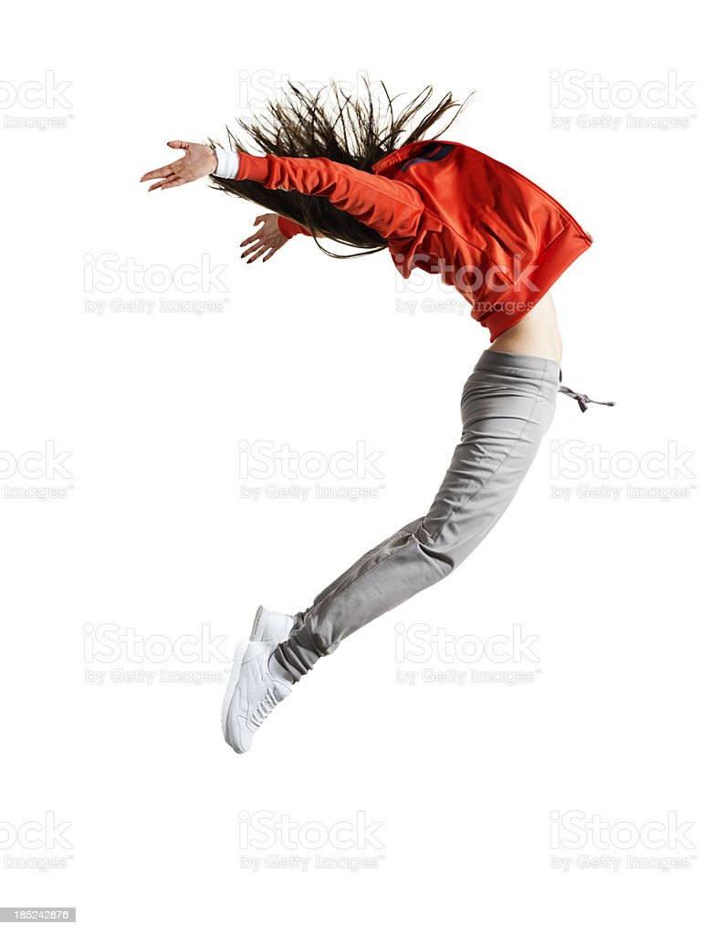 Woman dancer stock photo