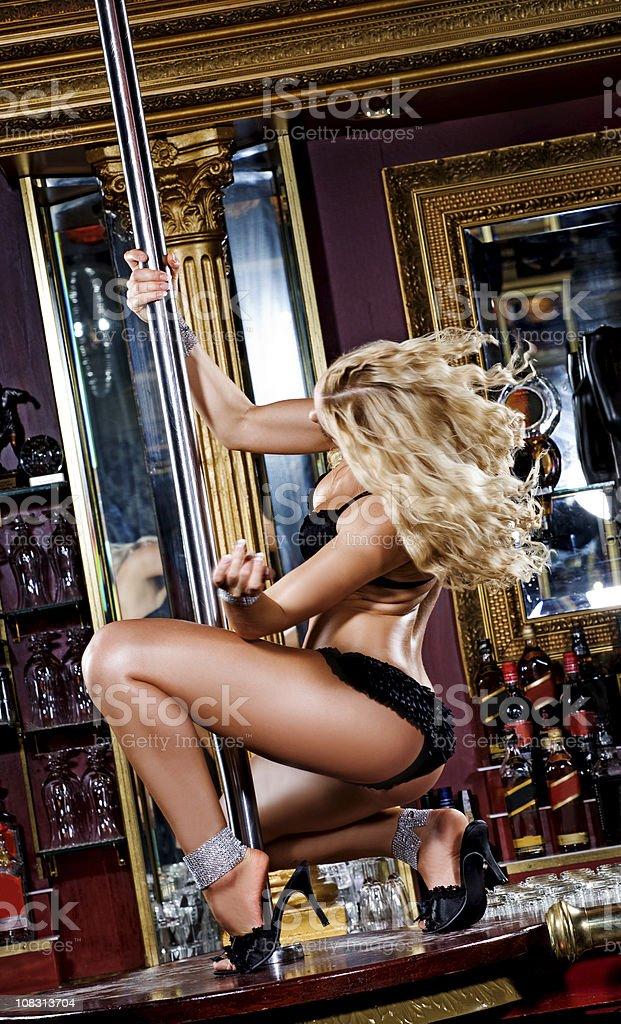 woman dansing royalty-free stock photo
