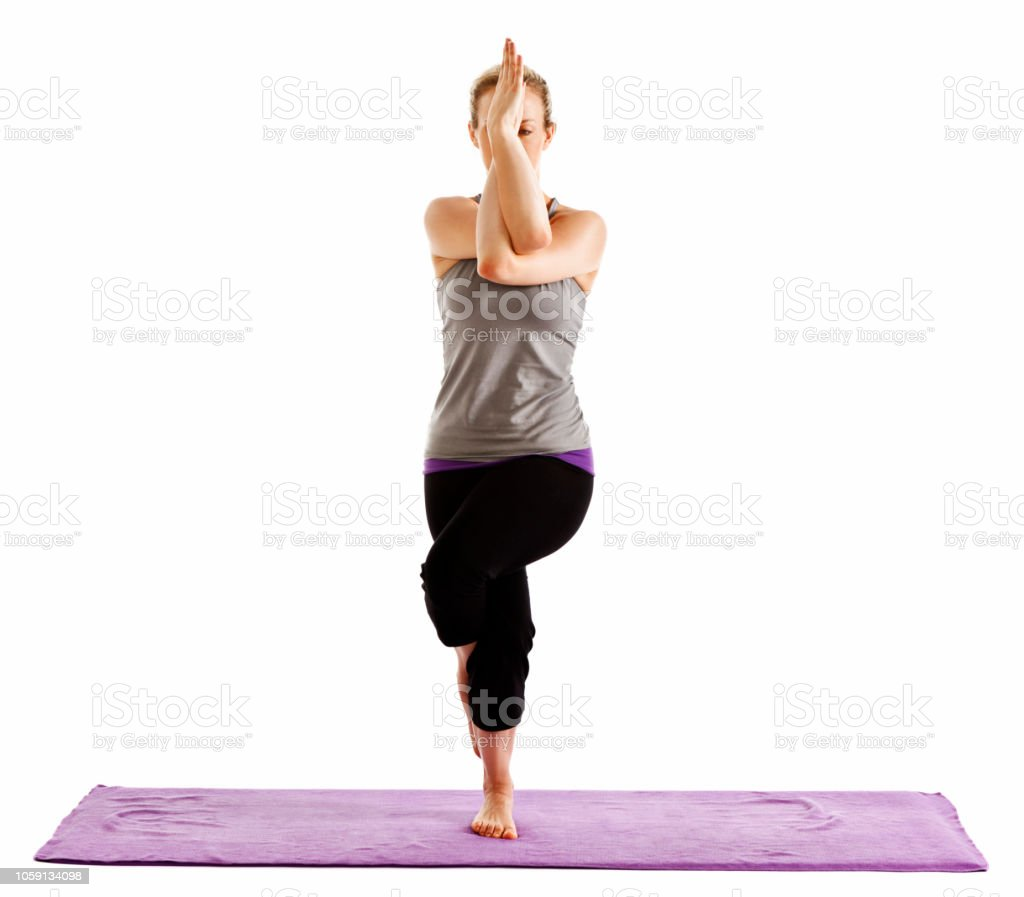 Eagle Yoga Pose Description
