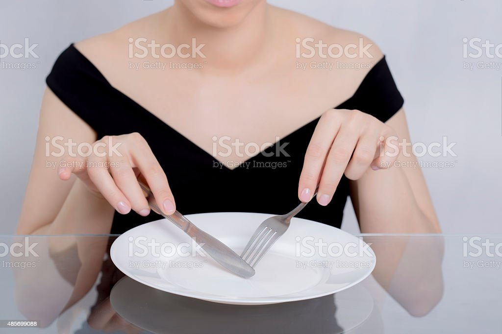 Woman diet stock photo