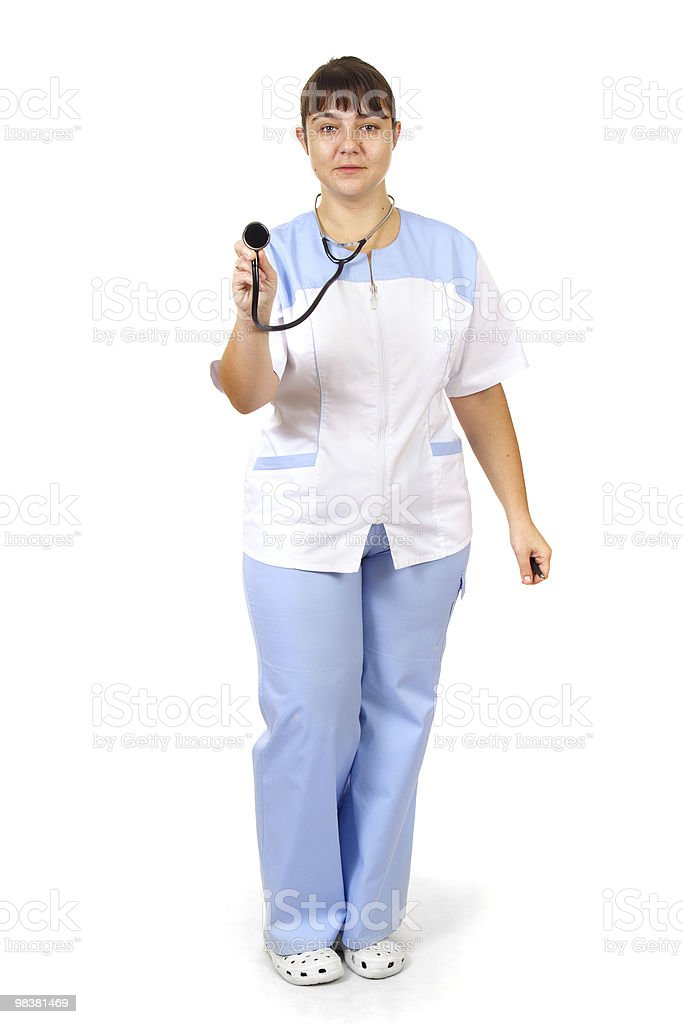 Woman Doctor royalty-free stock photo