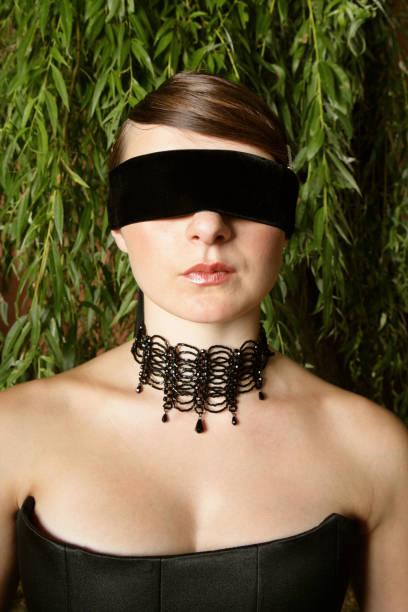 Best Tied Up Bondage Women Blindfold Stock Photos