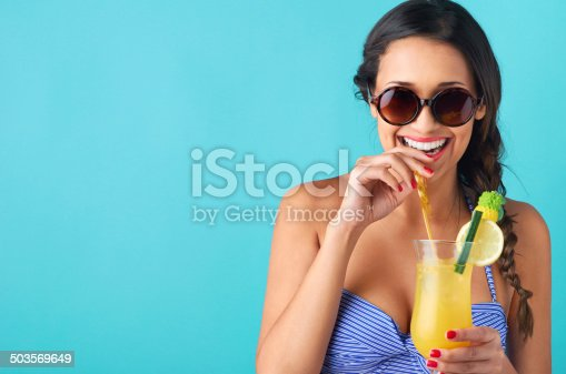 istock Woman drinking a cocktail 503569649