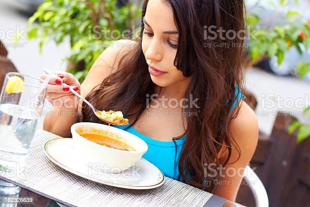 Woman eating soup picture id162326639?b=1&k=6&m=162326639&s=612x612&h=hbcmknqnapcsxdkmym0o0qb5c5r5sodvy ayna0roso=