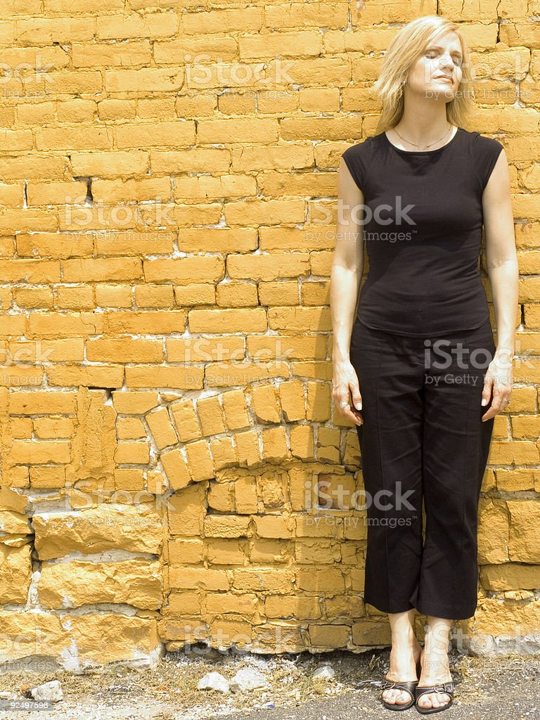 woman eleven royalty-free stock photo