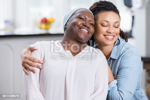 932074776 istock photo Woman embraces her senior mother 941439678