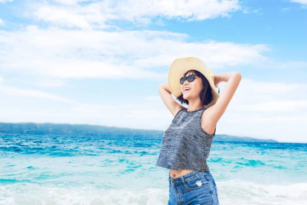 Royalty Free Philippines Beach Women Bikini Pictures