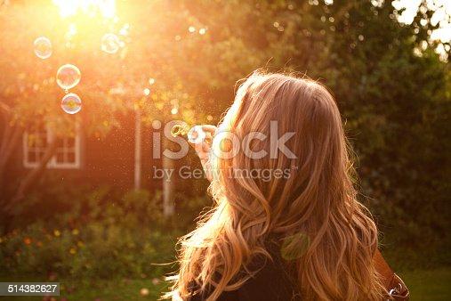 istock Woman enjoying the sun. 514382627