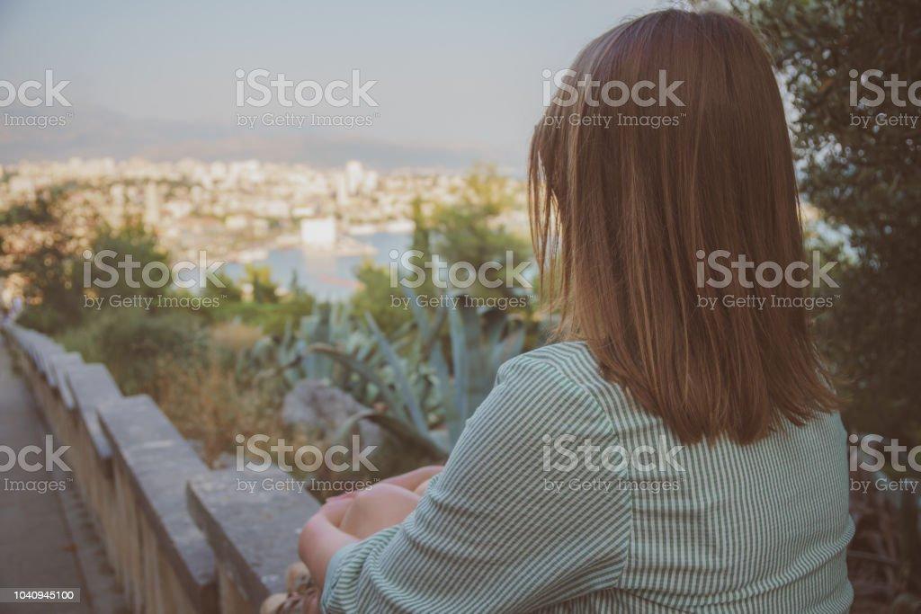 Woman in Split