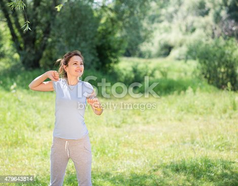 479652946istockphoto woman exercising outdoors 479643814